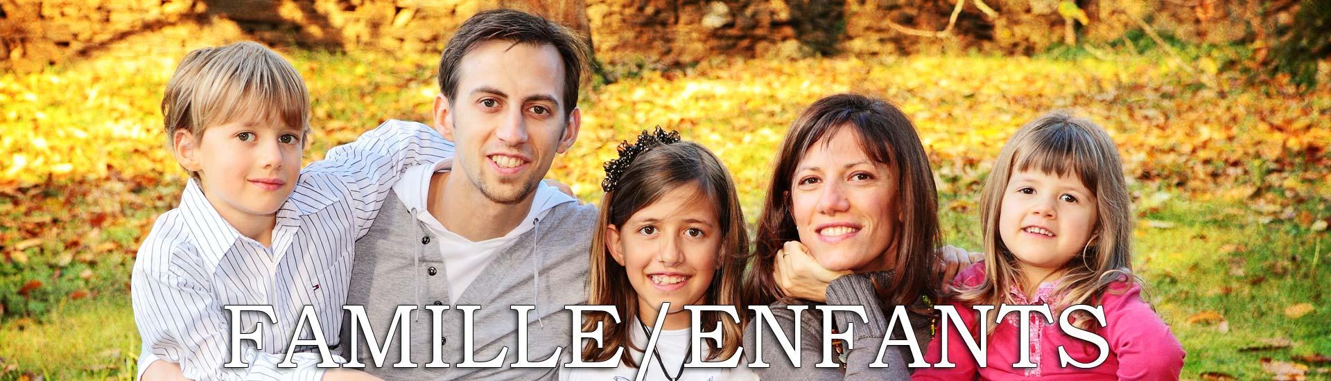 Photos de famille et enfants