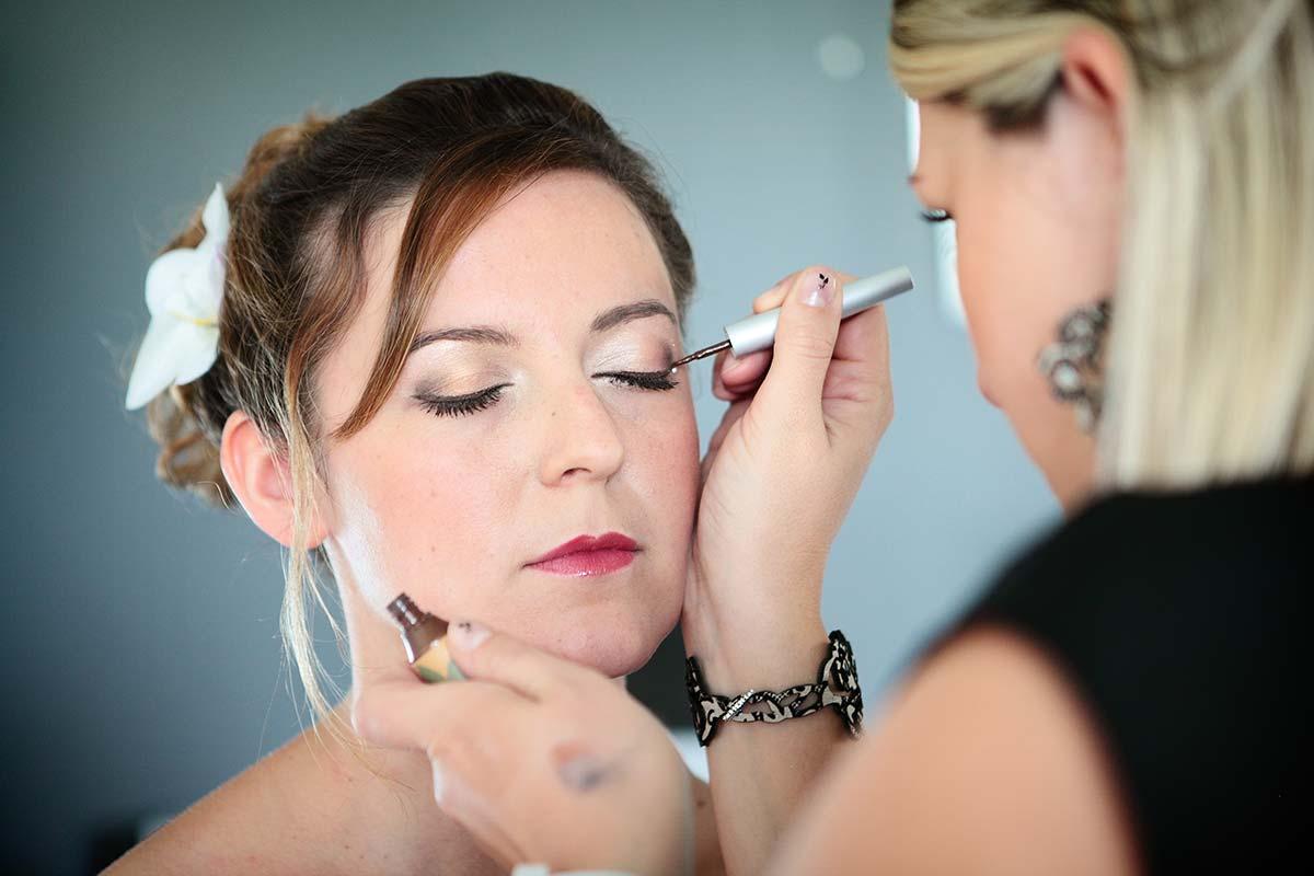Photographe maquillage mariage