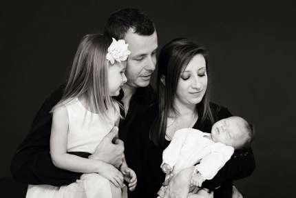 Photo de famille bébé