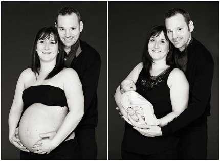 Photo avant après grossesse