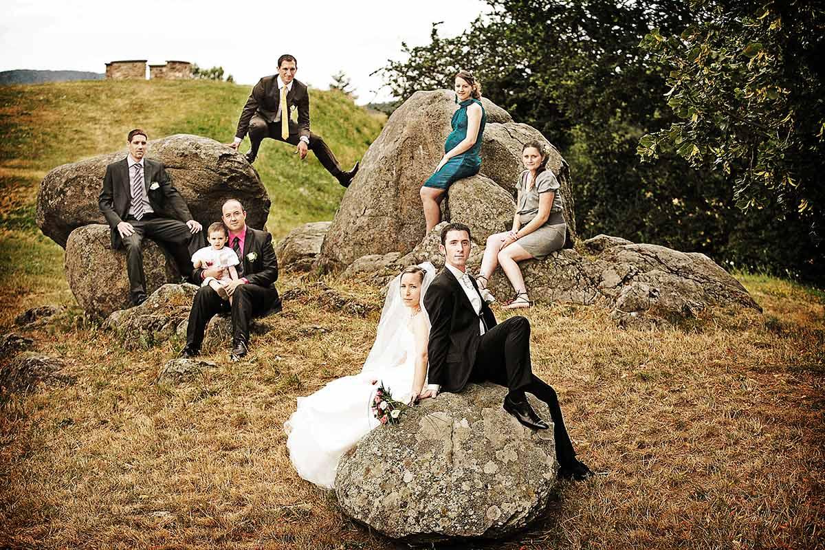 Photos de mariage du photographe pierre marion studio btbob - Photo de groupe mariage ...