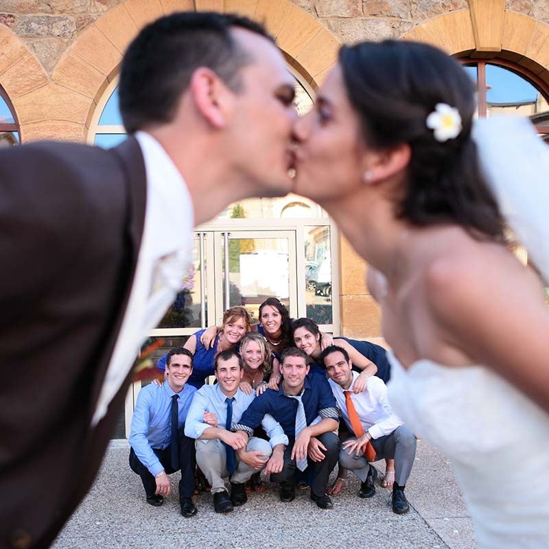 Photos de mariage originale