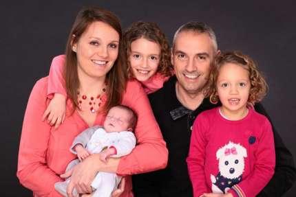 Photographe naissance famille