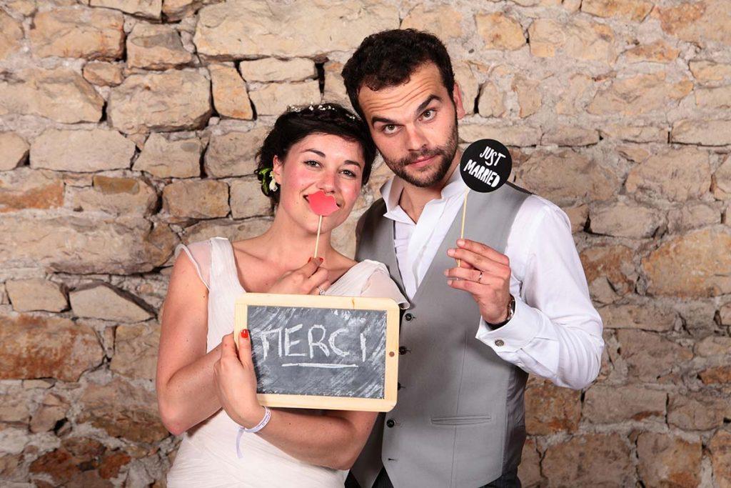 Photobooth mariage lyon
