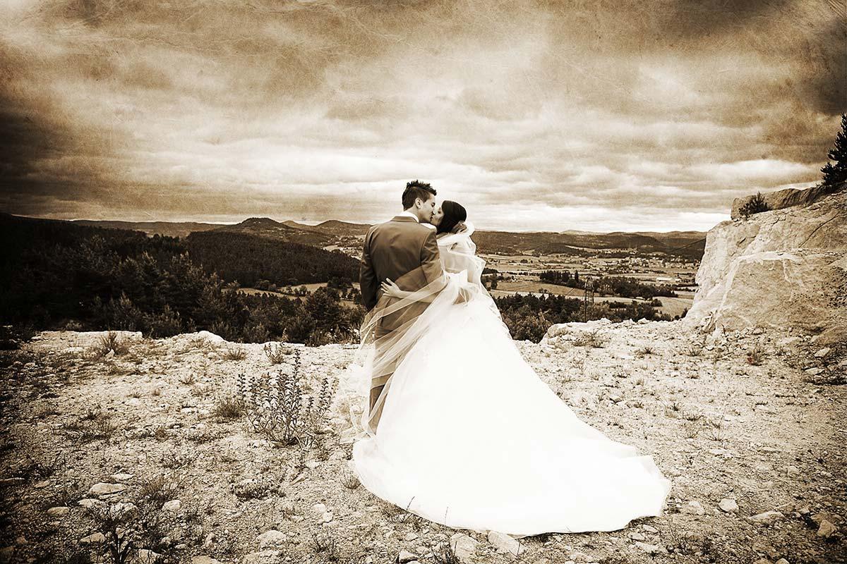 Photographe mariage brives charensac