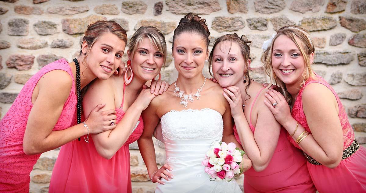 Photos mariage temoins