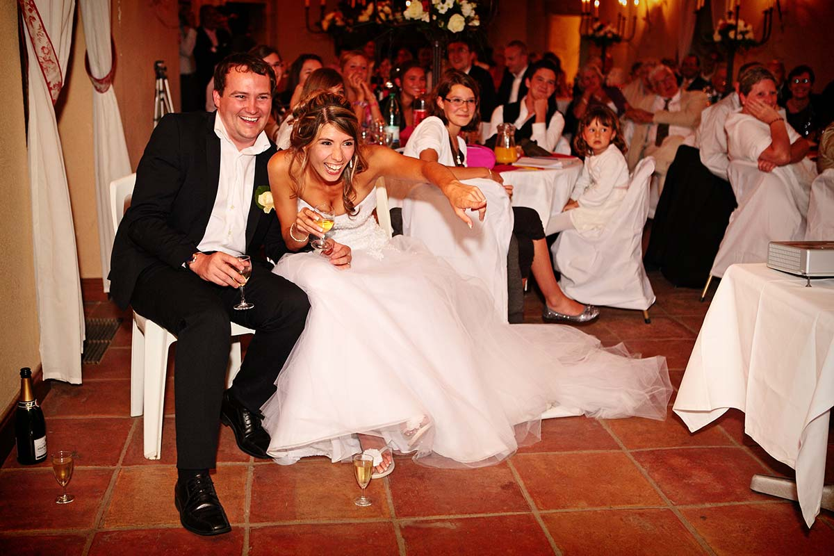 Photo de mariage soirée