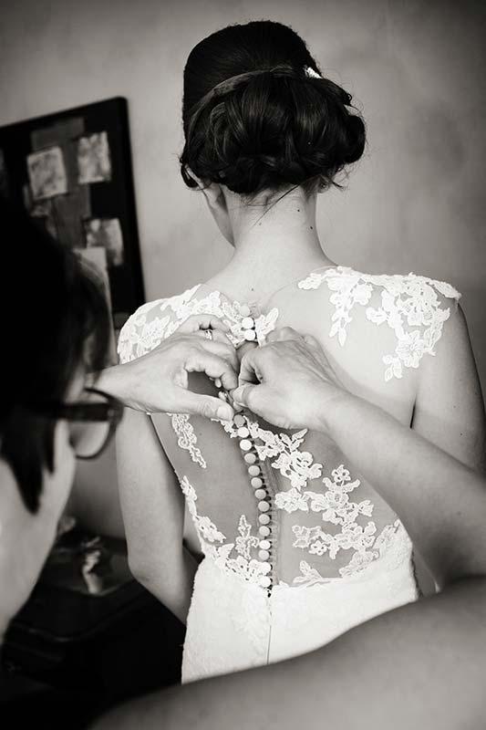 Photo robe mariage
